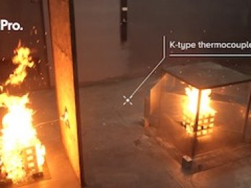 FirePro Class A Fire Suppression – Wood Crib Test