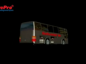 FirePro bus protection animation